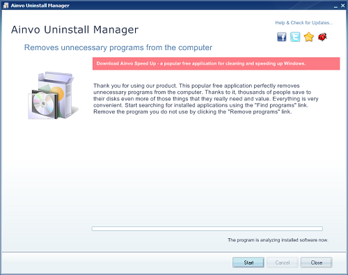 1 Uninstall Program Dan Clean Registry dengan Ainvo Uninstall Manager