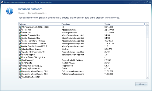 4 Uninstall Program Dan Clean Registry dengan Ainvo Uninstall Manager