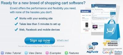 Membuat Toko Online Menggunakan Shopping Cart Software dari Ecwid.com