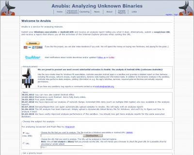 Mendeteksi Malware Dengan Anubis